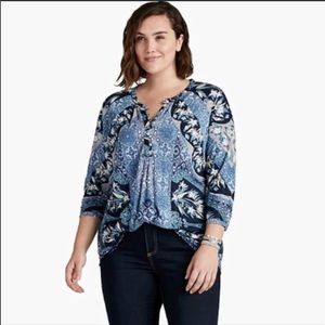 Lucky Brand Top Size 3X NWT